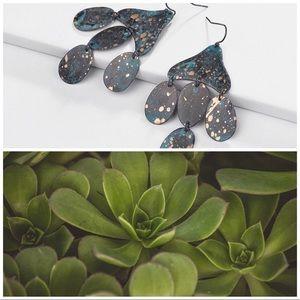 Catus Leaf Earrings